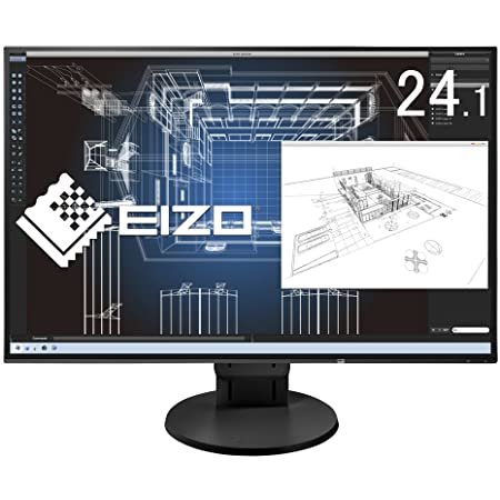 EIZO FlexScan 24.1インチ ディスプレイ モニター (WUXGA/IPSパネル/ノングレア/ブラック/5 無輝点保証) EV2456-RBK