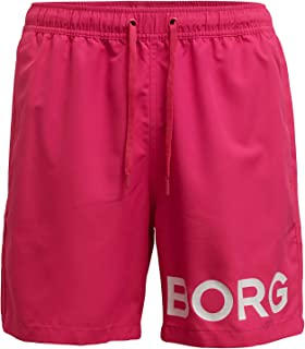 Bjorn Borg Men's Sheldon Swim Shorts Fuchsia
