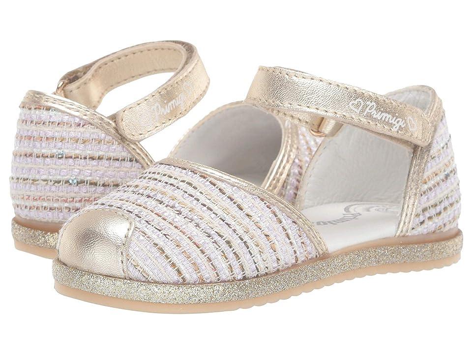 Primigi Kids PHS 34194 (Toddler/Little Kid) (Multi/Gold) Girls Shoes