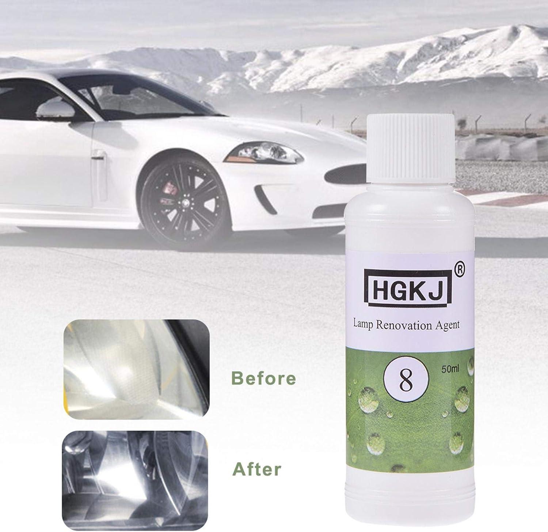 Auto Scheinwerfer Reparatur Flüssigkeit Reparaturflüssigkeit Scheinwerfer Autoscheinwerfer Polierset 20ml 50ml Baumarkt