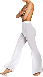 womens sheer pants