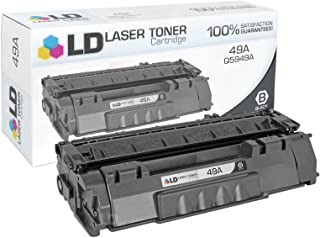 LD Compatible Toner Cartridge Replacement for HP 49A Q5949A (Black)