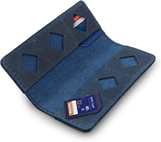 MegaGear - Tarjetero (Piel) Color Azul