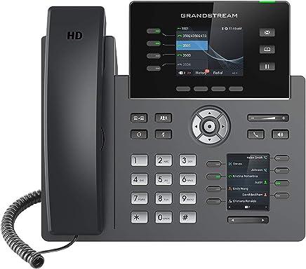 $175 » Grandstream GRP2614 Carrier-Grade PoE Dual LCD IP Phone - 4 SIP Accounts