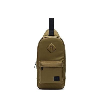 Herschel Supply Co. Heritage Shoulder Bag (Khaki Green) Handbags