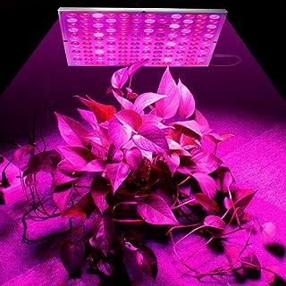LED Grow Light 45W, 144LED Full Spectrum Plant Grow Lamp for Indoor Plants, Update Reflector Plant Light for Veg and Flowe...