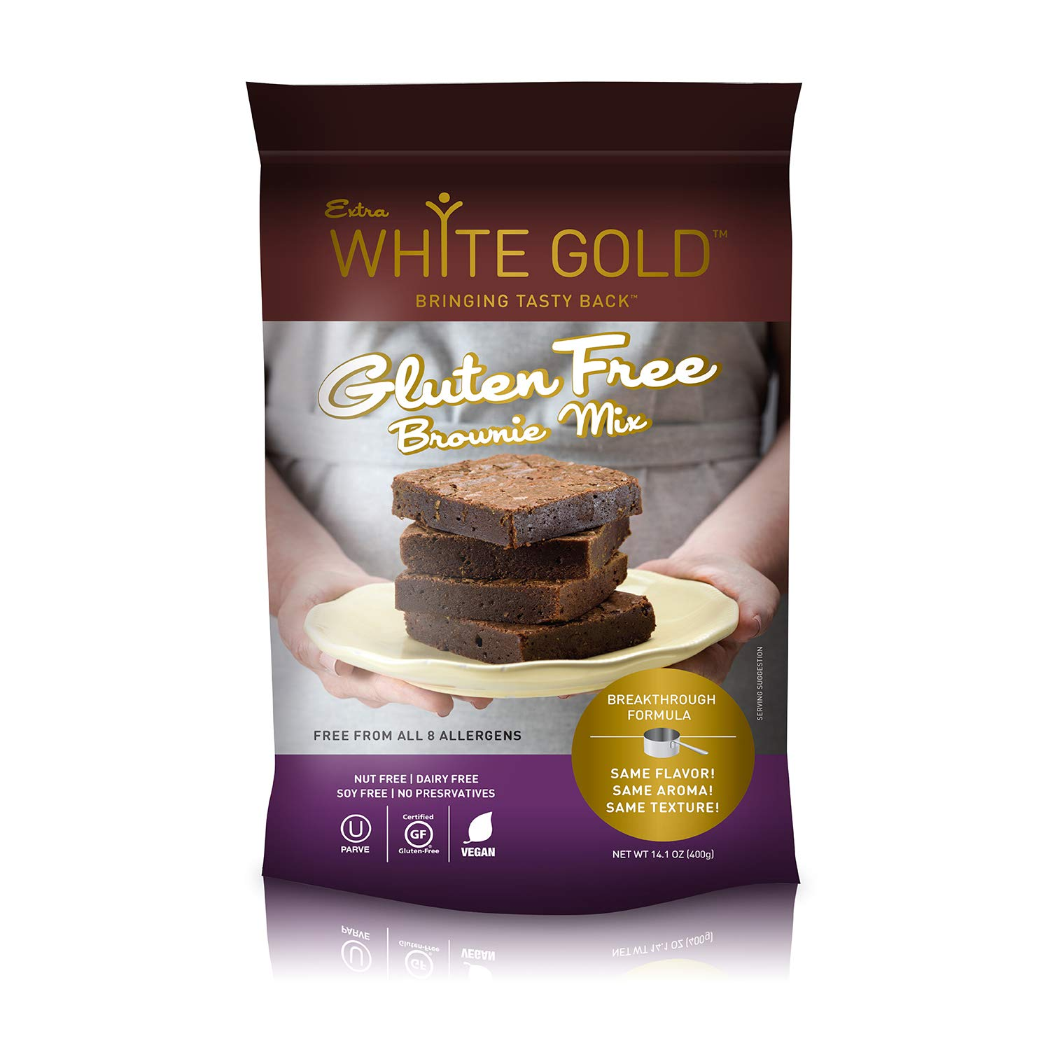 Extra White Gold Gluten Free Brownie For Baking Mix Desse safety – Gorgeous