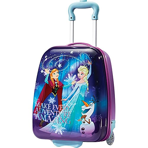 American Tourister Kids' Disney Softside Upright Luggage, Frozen III, Carry-On 18-Inch