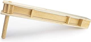 Wooden Handmade Noisemaker Grogger, Matraca de Madera - Matraca Ratchet Sports Loud 30