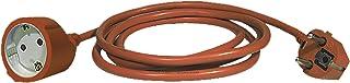 EMOS P01240R Verlängerungskabel 40m Schuko, Strom-Verlängerung für Innen IP20, H05VV-F3G 1,5 mm2, Kinderschutz, 3680 W, 250 V