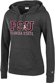 ac9df31d Champion NCAA Women's Comfy Fitted Sweatshirt University Fleece Hoodie  Florida State Seminoles X-Large