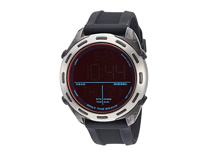 Diesel  Crusher Digital - DZ1893 (Black) Watches