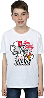 Tom And Jerry Boys Cat & Mouse Chase T-Shirt