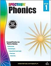 Spectrum Paperback Phonics Workbook, Grade 1, Ages 6-7