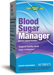 Nature's Way Blood Sugar Manager Glucose Support Formula, 60 Count