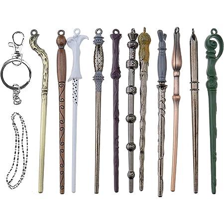 Bastone da Passeggio Harry Potter Movie Prop Bacchetta Magica di Albus Silente Albus Silente JYMEI Metal Core Addestramento guidato Bacchette magiche