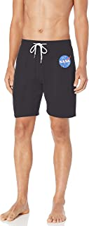 Nick Graham Men's X NASA Logo Jam Sleep Shorts
