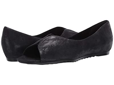 Munro Francesca (Black Suede/Metallic Foil) Women