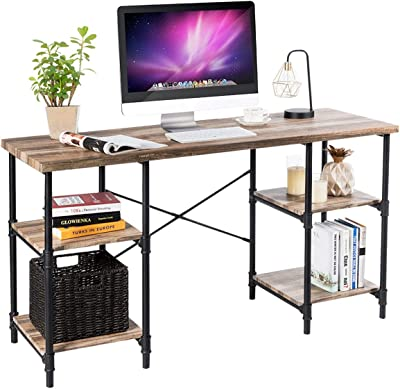 "Amazon.com: Tribesigns Computer Desk, 55"" Large Office"