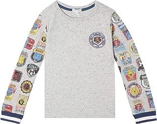 art & eden Boy's 100% Organic Cotton Long Sleeve T-Shirt