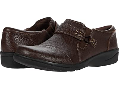 Clarks Cheyn Onyx (Dark Brown Tumbled Leather) Women
