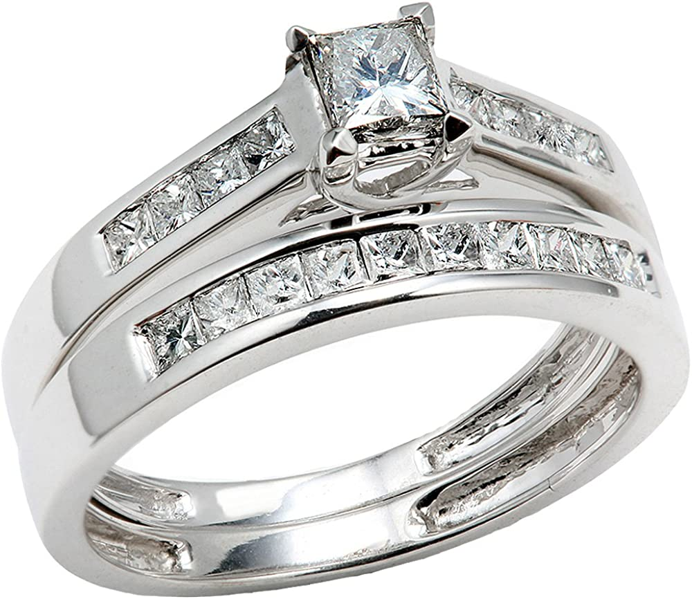 Dazzlingrock Collection 0.75 Carat ctw price Diamond 5 ☆ popular La 14k Princess