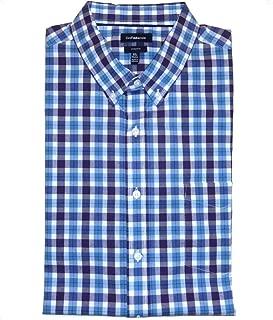 Big /& Tall 20 36//7B Easy-Care Dress Shirt Classic Burgundy Plaid Croft /& Barrow