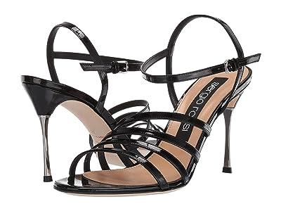 Sergio Rossi Godiva Steel (Black Patent) Women