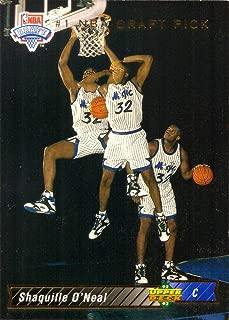 1992-93 Upper Deck Basketball #1 Shaquille O'Neal Rookie Card - Shaq