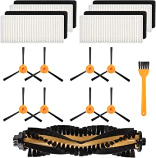 Mochenli 8 Brushes + 4 HEPA Filters + 1 Main Brush for Ecovacs DEEBOT N79 N79s