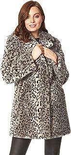 Roman Originals – Chaqueta de forro polar para mujer, con bolsillos informales y suaves, gruesas, cálidas, cómodas, cierre...