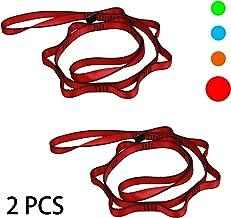 طناب های زنجیره ای Geelife Daisy 2 قطعه تسمه های محکم 23 kN صعود نایلون دیزی زنجیره ای Lanyard 53 اینچ
