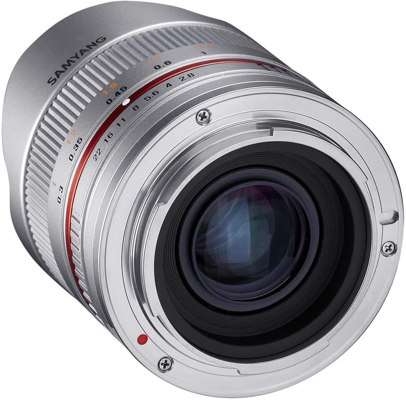 Samyang 8 mm Fisheye F2.8 Manual Focus Lens for Fuji X Black