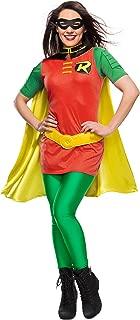 Rubie's Costume DC Comics Women's Robin Superhero Costume