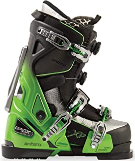 Apex Ski Boots Antero Big Mountain Ski Boots (Men's Sizes 25-31) Walkable Ski Boot System with Open-Chassis Frame for Advanced/Expert Skiers