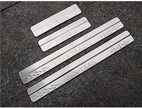brillo 5902538678339 plata kit de 4 piezas Protectores de acero para umbral de coche