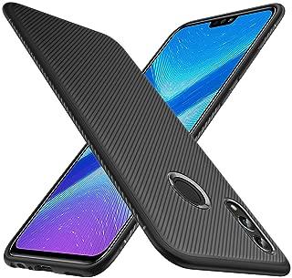 KuGi Honor 8X Case, Huawei Honor 8X Case, JS Scratch Resistant & Anti Slip Grippy Soft TPU Case for New Huawei Honor 8X Smartphone(Black)