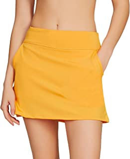 694595baa7d561 Amazon.com: Yellows - Active Skorts / Active: Clothing, Shoes & Jewelry