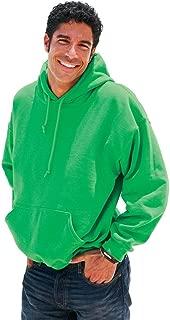 Heavyweight Blend Hooded Sweatshirt in Irish Green - Small