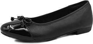 comprar comparacion Knixmax Bailarinas para Mujer/Mary Jane Merceditas, Zapatos Plano para Caminar, Zapatillas de Ballet de Piel Mocasines Tra...