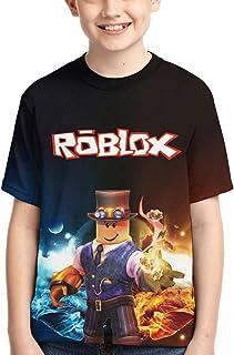 JayRuoYi Boys and Girls 3D Fashion T-Shirt Game Funny T-Shirt أفضل هدية للأطفال