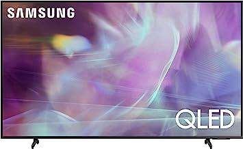 SAMSUNG 60-Inch Class QLED Q60A Series - 4K UHD Dual LED Quantum HDR Smart TV with Alexa Built-in (QN60Q60AAFXZA, 2021 Model)