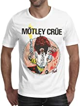 Men's Short Sleeve Cotton Tshirts Crew Neck Metal Rock Group Member Art Casual Top