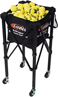 Gamma Sports EZ Travel Cart Pro 150 Ball Hopper, Black