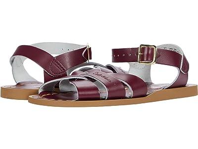 Salt Water Sandal by Hoy Shoes The Original Sandal (Toddler/Little Kid) (Claret) Kids Shoes