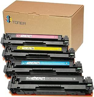 J-C Toner Compatible Toner Cartridge Replacement for HP 201X ( Black,Cyan,Magenta,Yellow , 4-Pack )