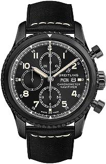 927f7ee7a20 Breitling Navitimer 8 Chronograph 43 Black Steel Men s Watch (ref.  M13314101B1X1)