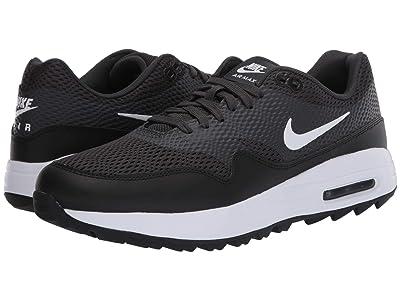 Nike Golf Air Max 1G (Black/White/Anthracite/White) Men