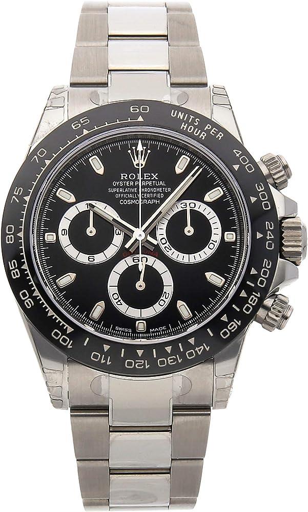 Rolex - cosmograph daytona orologio da uomo automatico  in acciaio inossidabile 116500LN