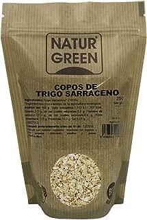 Copos de Trigo Sarraceno BIO Sin Gluten Naturgreen, 250 g ...